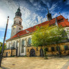 Germany, Celle, city, Niedersachsen, landscape, HDR, wideangle