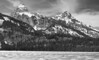 Teton Range and Taggart Lake