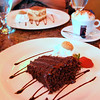 Chocolate Cake at the Mediterraneo Cafe