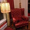 A comfy armchair