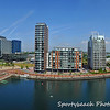 A view of Salford Quays