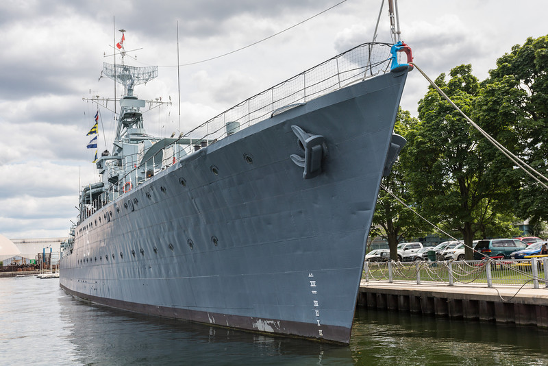 Destroyer HMCS Haida National Historic Site.