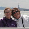 Nancy & Judi<br /> Lady Liberty in the background