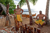 Hawaiian craftsmen at the Old Lahaina Luau