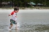 "Jack playing in the ""little water"" on Hilton Head Island, SC."
