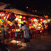 An array of lanterns for sale