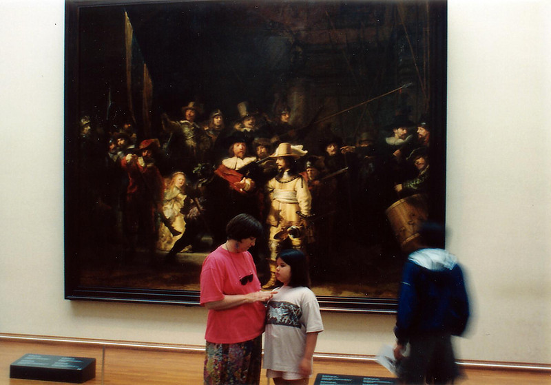 The Night Watch<br /> Rikmuseum<br /> Amsterdam<br /> Holland - Jul 1996