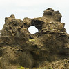 Dimmuborga -- an interesting formation.  I hiked up there.