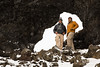 James and I in the Snow at Dimmuborgir