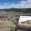 Big Cinder Butte and the lava flows