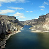 The Snake River, near Shoshone Falls
