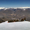 Overlooking Sun Valley from Bald Mountain