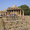 Open air Mandapa and Garbhagriha - Sun Temple, Modhera Gujurat India