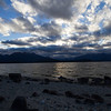 Sunset over Lake Manapouri