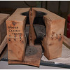 Wooden mold used in the shaping process -- in this case for the Honda Classic