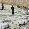 The teaching steps, where Jesus taught the crowds who were coming and going from the temple