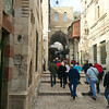 On the streets of old Jerusalem