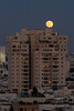 Super Moon over Tel Aviv