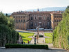 Pitti Palace and  Boboli Gardens, Florence Italy, August Afternoon