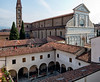 Santa Maria Novella, Florence, from our room in the Grand Hotel Minerva
