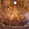 Ceiling of the Baptistry - Florence
