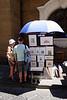 Street artist San Lorenzo Florence