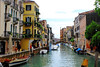 The canal where I stayed in Venice.