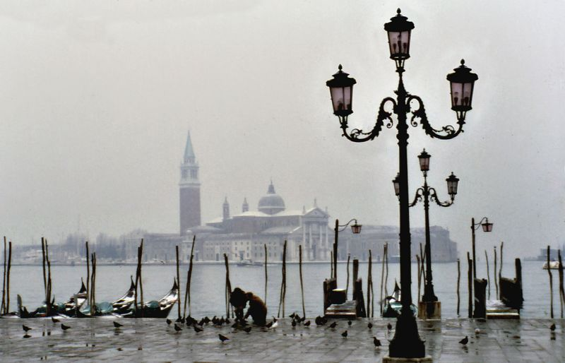 View from piazza San Marco<br /> Venice<br /> Italy - Jan 1979