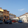 Main Square of Conco with a lovely pisticeria at the corner