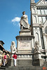 This is a statue of Dante Alighieri outside of Santa Croce (Florence). His tomb is in the church. IMG_2962