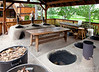 Outdoor ovens.