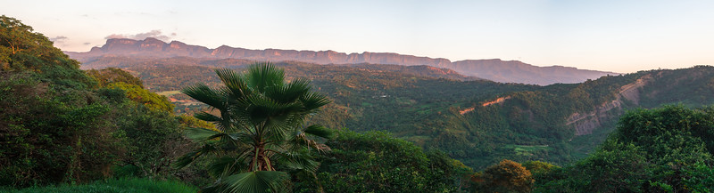 Anapoima Sunset Panorama