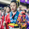 Young Girl In Matsuri Clothes