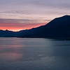 Sunset - Lake Como, Italy