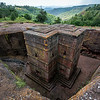 The churches of Lalibela were carved into the stone back in the 12th century.