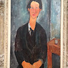 portrait of Soutine, by Modigliani    possibly after a night of heavy drinking...
