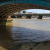 Under Southwark Bridge