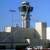 Air Traffic Control Tower at Los Angeles International Airport in California.