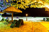 Tengah Beach at night, Langkawi