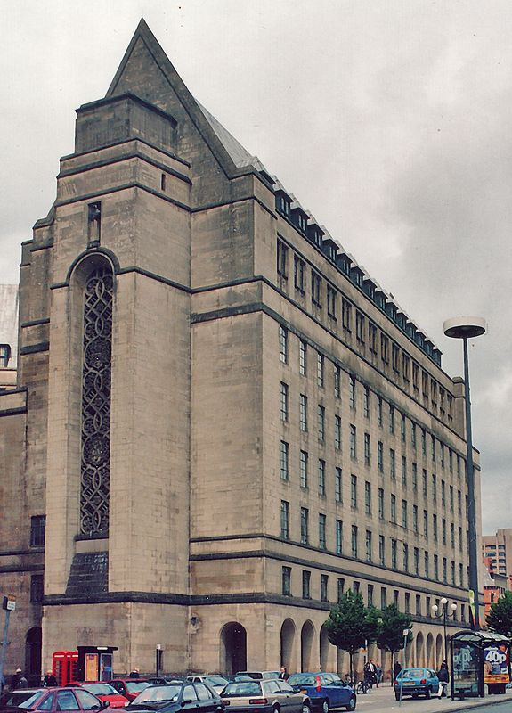 Building<br /> Manchester<br /> England - 1996