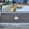 Plaque for the Fishermen's Memorial, Gloucester, MA