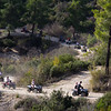 Riding quad bikes in the mountains near Side.