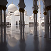 Abu Dhabi Grand Mosque.  Abu Dhabi, United Arab Emirates.