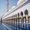 Abu Dhabi Grand Mosque.<br /> <br /> Abu Dhabi, United Arab Emirates.
