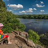 On the St Croix River Trail