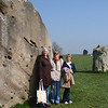 Me Kathy and Ronnie at Avebury
