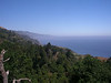 View from Nepenthe Restaurant, Big Sur, CA. Monterey 2014