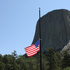 Devil's Tower and Old Glory