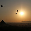 Sunrise in Bagan.