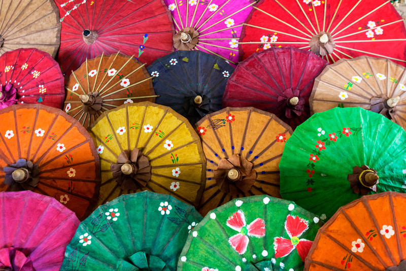The Shwe Pann Khaing Parasol Workshop